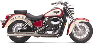 Cobra Low Boy Shotgun Exhaust - Honda Shadow ACE (98-03)