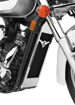 Cobra Radiator Cover - Honda Shadow Aero 750  (04-08)