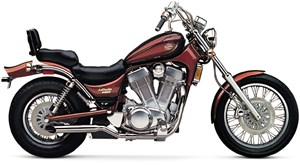 Cobra Slip-on Two Sided Slashcut Mufflers - Suzuki Intruder 700 / 750 / 800 / Boulevard S50