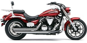 Cobra Speedster Slashdown Exhaust - Yamaha V-Star 950 (09-12)