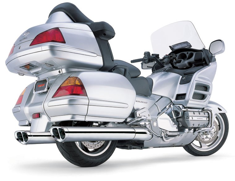 Cobra Tri-Oval Slip-on Mufflers - Honda Goldwing GL1800 (01-12)