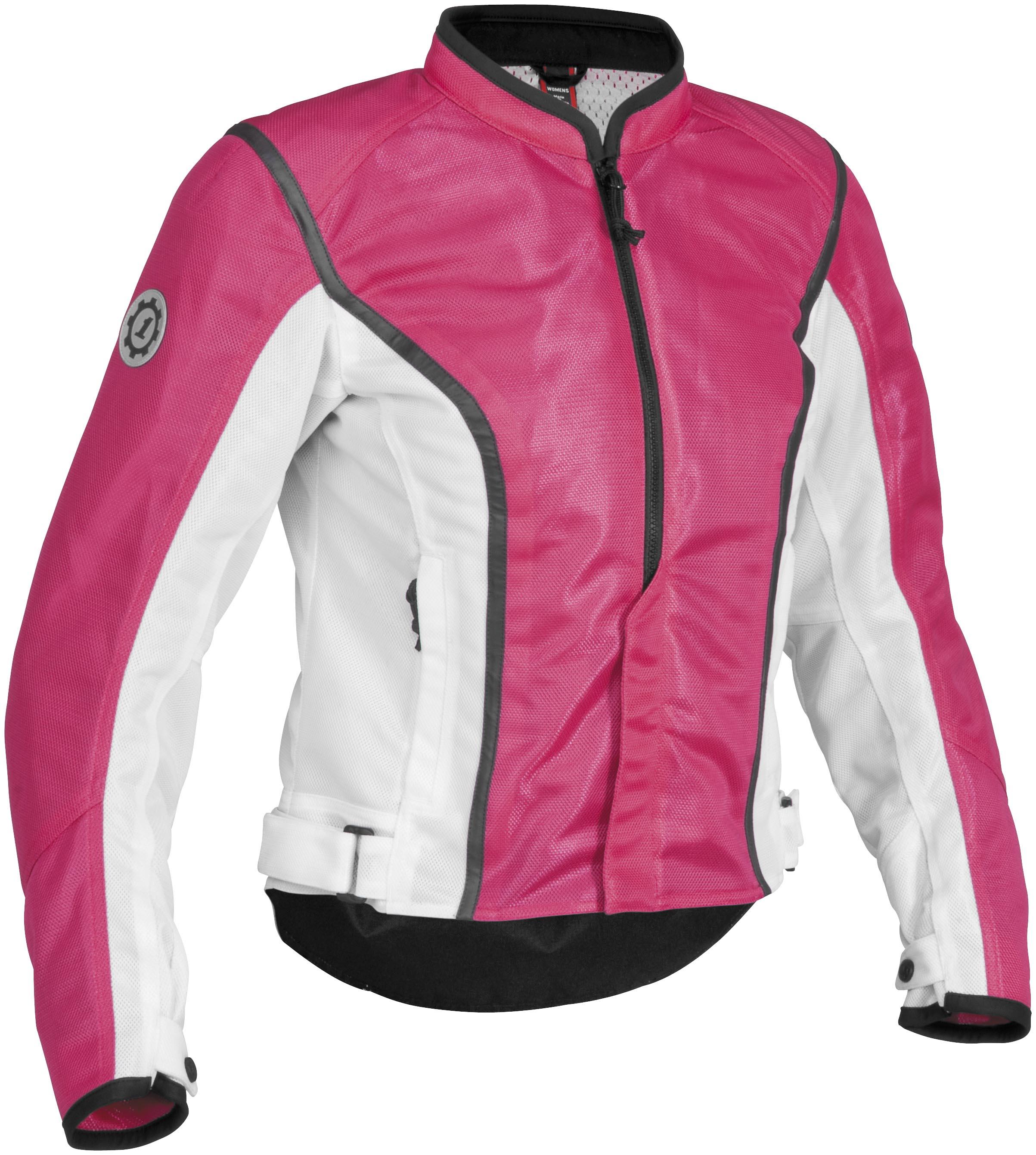 Firstgear Contour Mesh Womens Motorcycle Jacket Pink