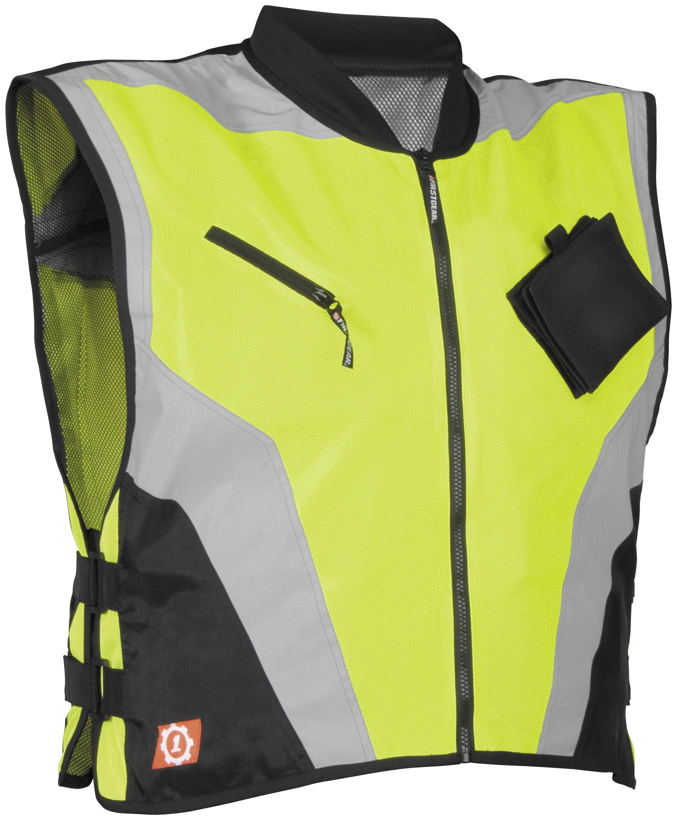 Firstgear Military Spec Motorcycle Vest Day Glo