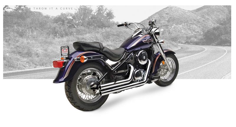 Hard Krome 2 5 Quot American Classic Straights Kawasaki