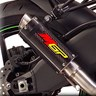 Hotbodies Racing MGP Growler Slip-on Exhaust - Kawasaki Ninja ZX-10R (08-10)