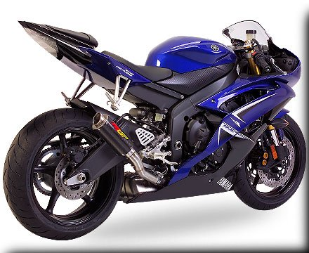 hotbodies racing mgp growler slip on exhaust yamaha yzf r6 06 11. Black Bedroom Furniture Sets. Home Design Ideas