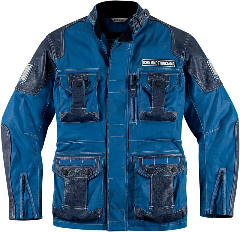 """There are three variables to consider when sizing an ICON jacket. The first two are the chest and sleeve measurements, which are what your jacket size is based on. The third is the the jacket fit type, which defines the """"cut"""" of the jacket (Attack, Sport, or Relaxed)."""