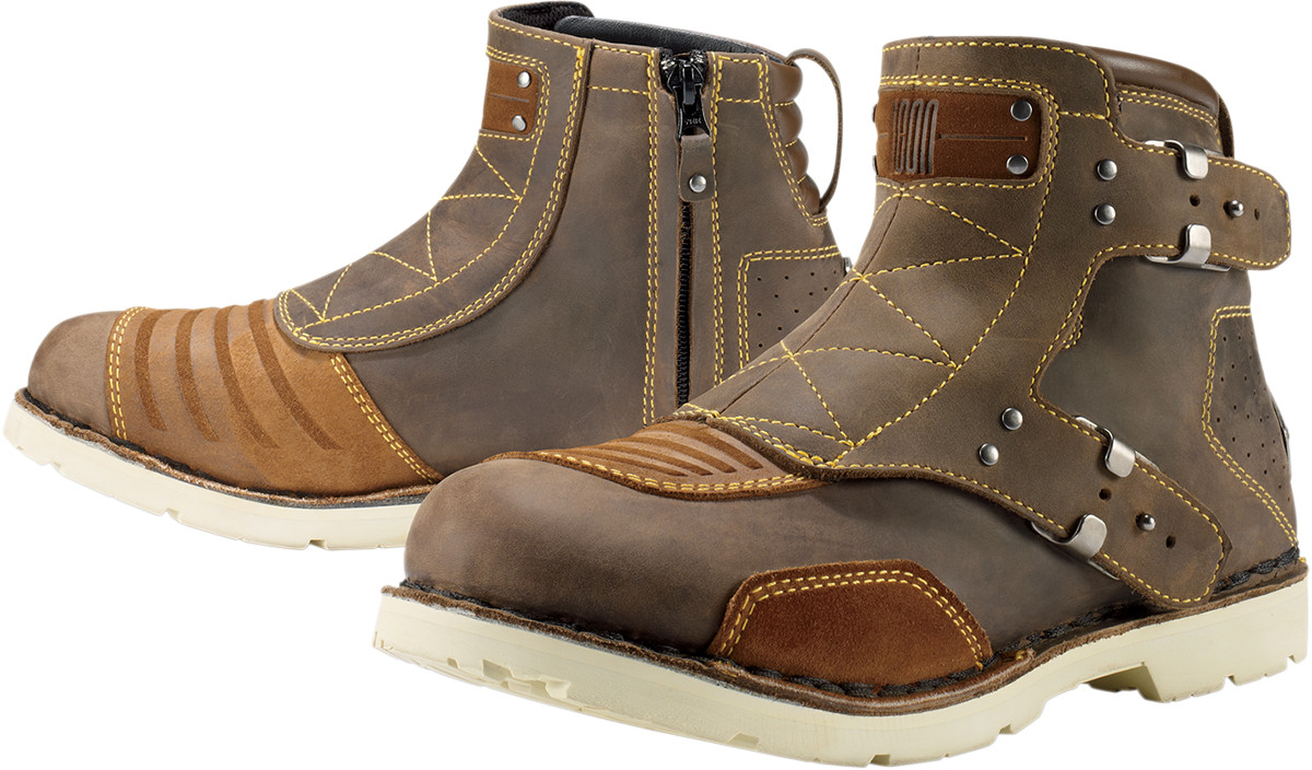 Simple 25 Amazing Brown Motorcycle Boots Women | Sobatapk.com