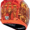 Icon Airframe Vaquero Full Face Motorcycle Helmet - Orange