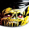 Icon Airmada Chainbrain Glow in the Dark Full Face Motorcycle Helmet
