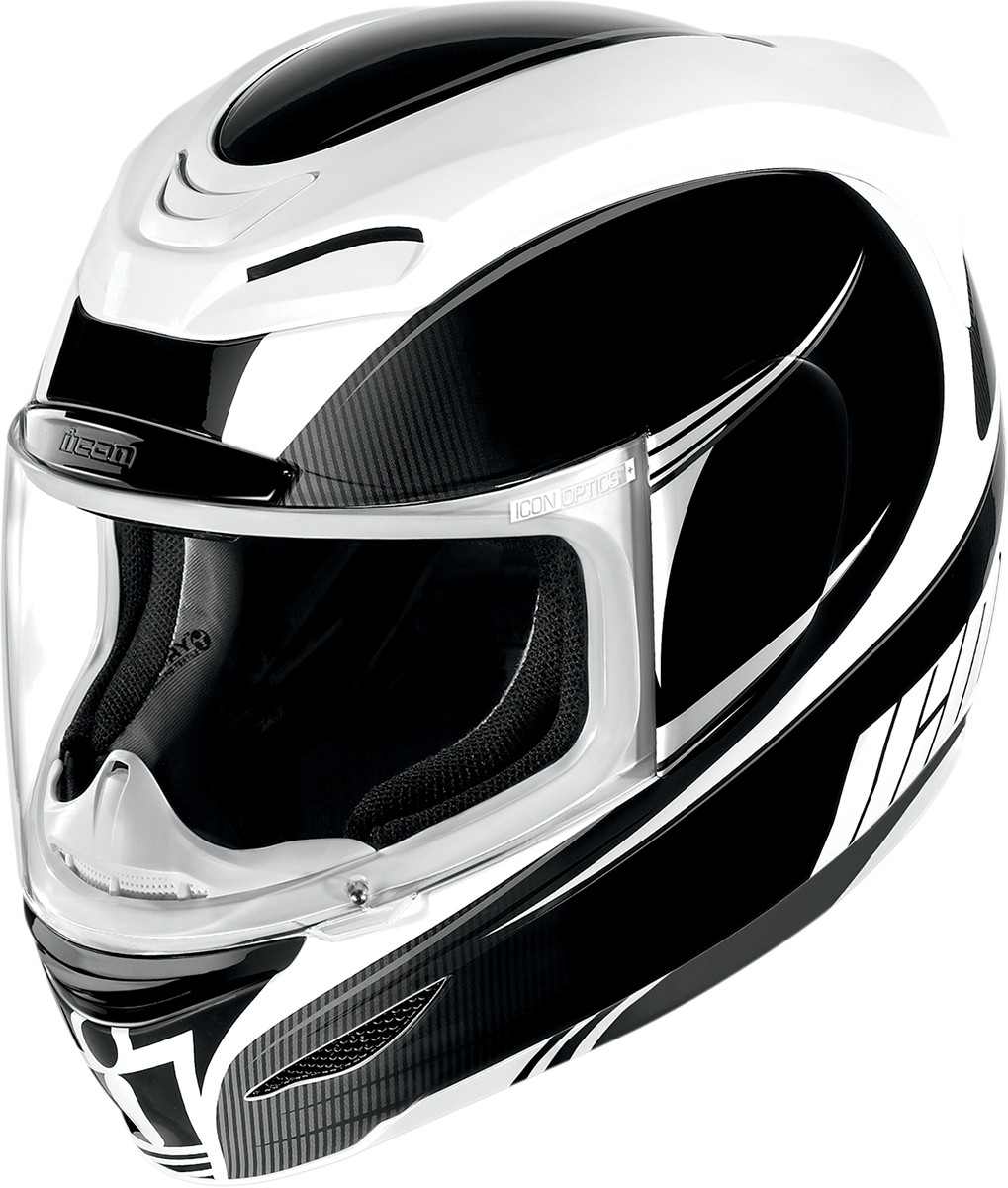 Motorcycle Safety Gear >> Icon Airmada Salient Full Face Motorcycle Helmet - Black