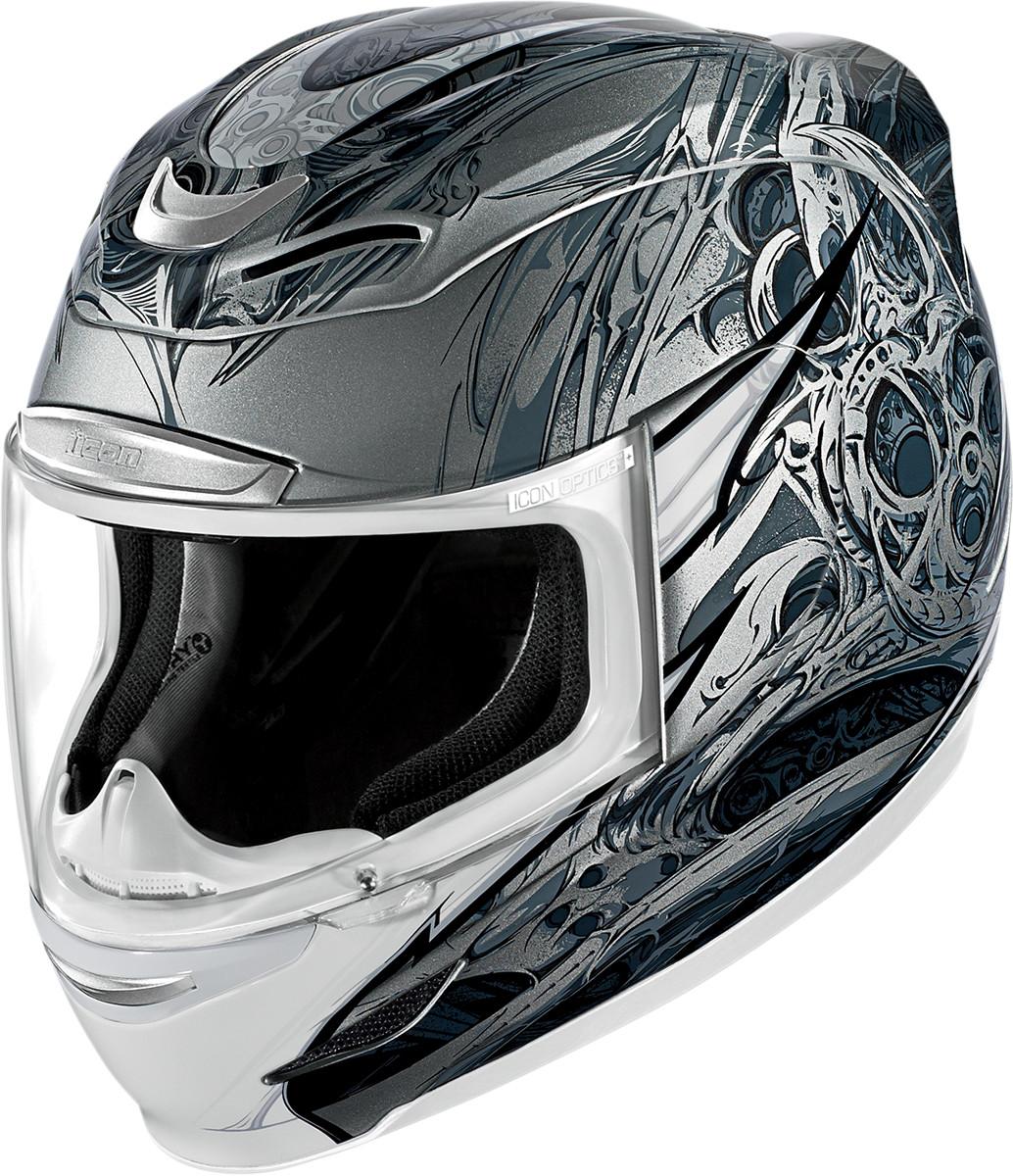 Icon Airmada Motorcycle Helmet Visor Blue