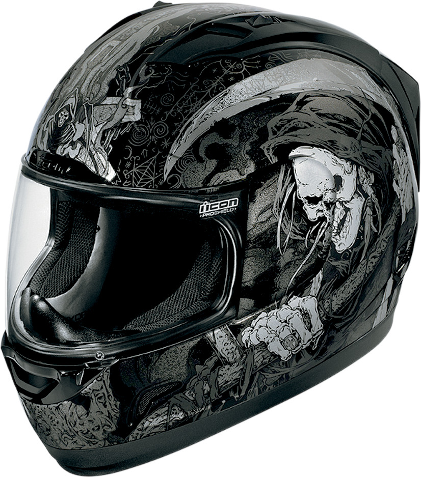 Icon Alliance Harbinger Full Face Helmet Black