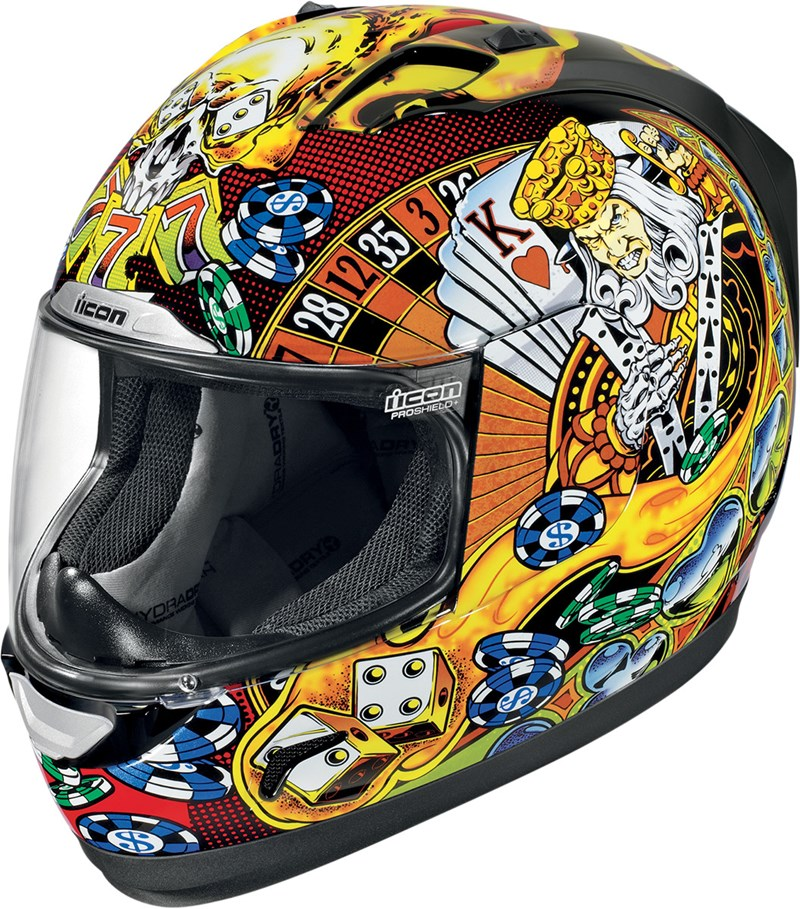 Icon casino helmet