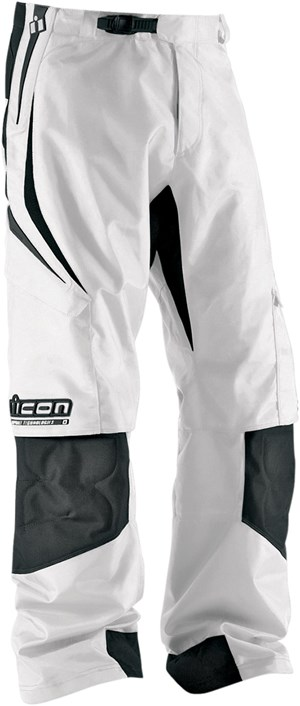 Icon Arc Textile Pants - White
