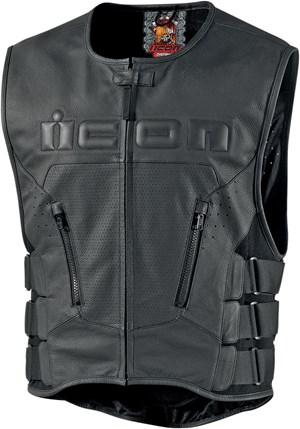 Icon Chieftan Regulator Vest - Black