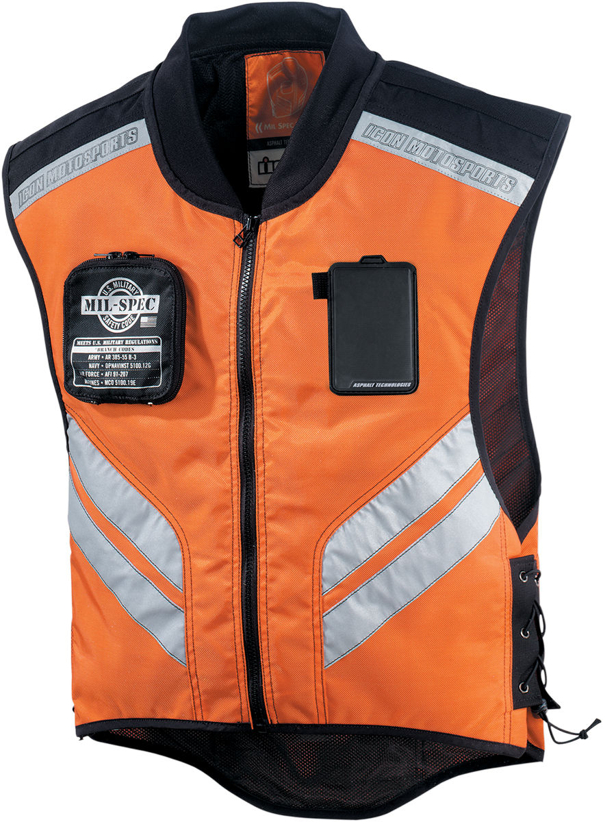 Icon Military Spec Instructor Motorcycle Vest