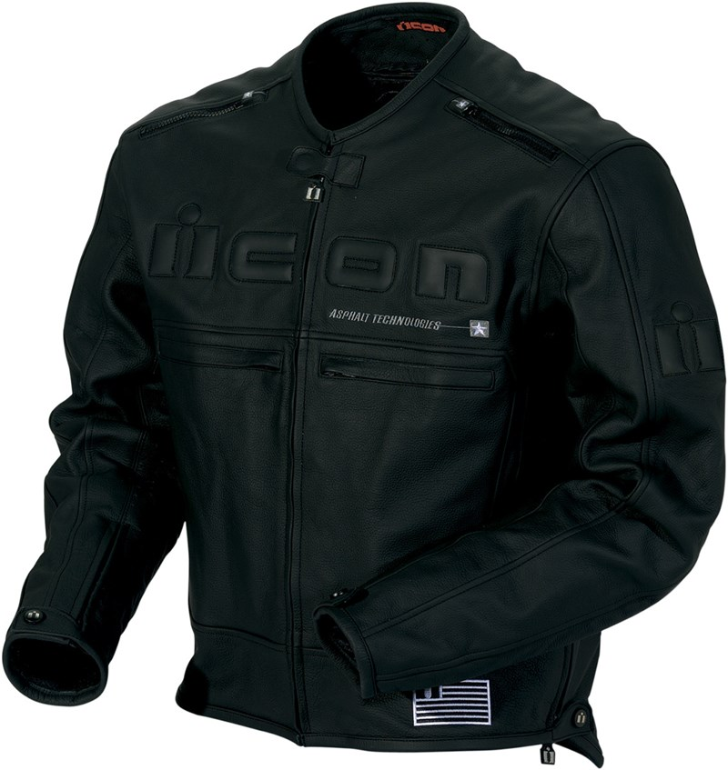 Icon Leather Motorcycle Jackets - Jacket