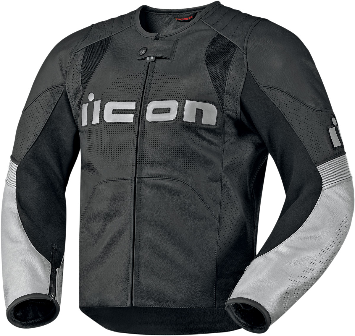 Icon Overlord Leather Jacket - Black
