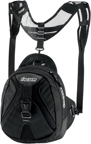 Icon Primer Tank Bag - Black