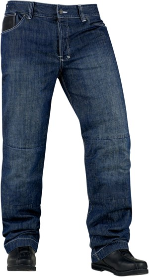 Icon Strongarm 2 Enforcer Denim Riding Pants