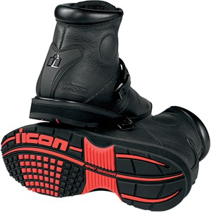 Icon Superduty 3 Leather Boots - Stealth