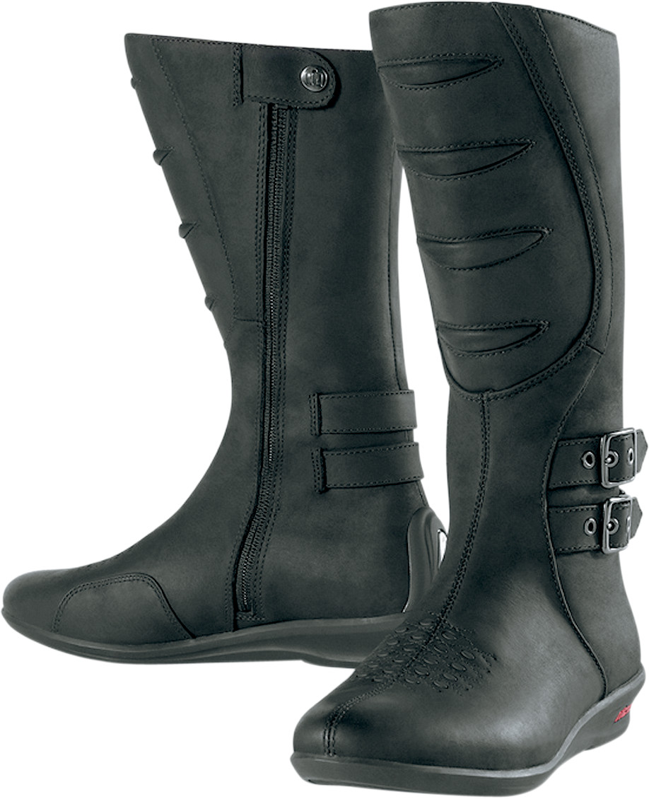 Beautiful MSRP $31999 US $40999 CAN Connelly Womens Black PullOn Boots In Honor Of Women Riders Around The World And Indian Motorcycles 100year Heritage Of Supporting Them, This Boot Is Named After Catherine Connelly Of