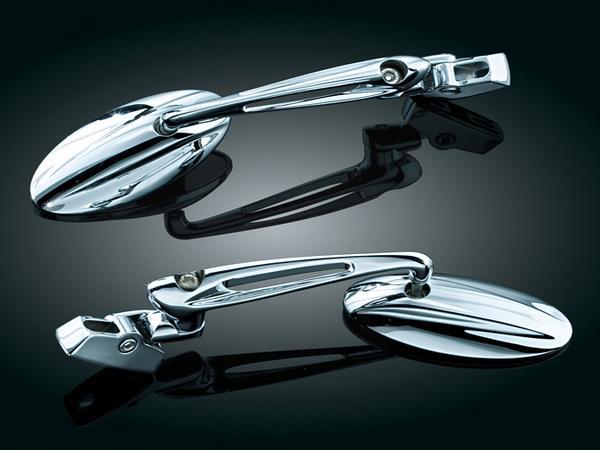 Kuryakyn Trident Chrome Sportbike Mirrors