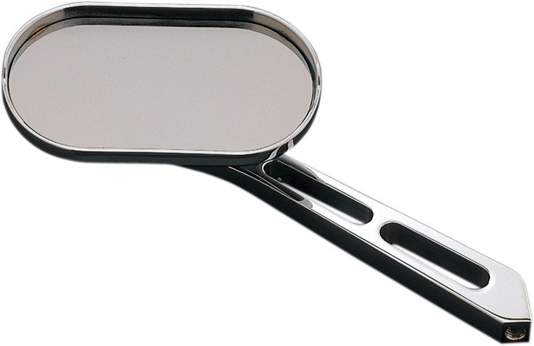 Kuryakyn magnum plus mirrors small head long stem with for Small long mirrors