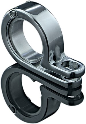 "Kuryakyn P-Clamp for Lighting - 1-3/8"" - 1-1/2"" Chrome"