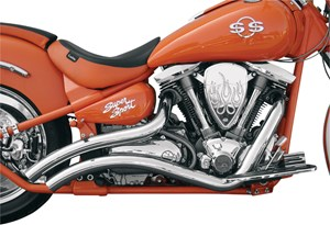 LA Choppers CurveDD Exhaust System - Yamaha Road Star 1600 / 1700 (99-07)
