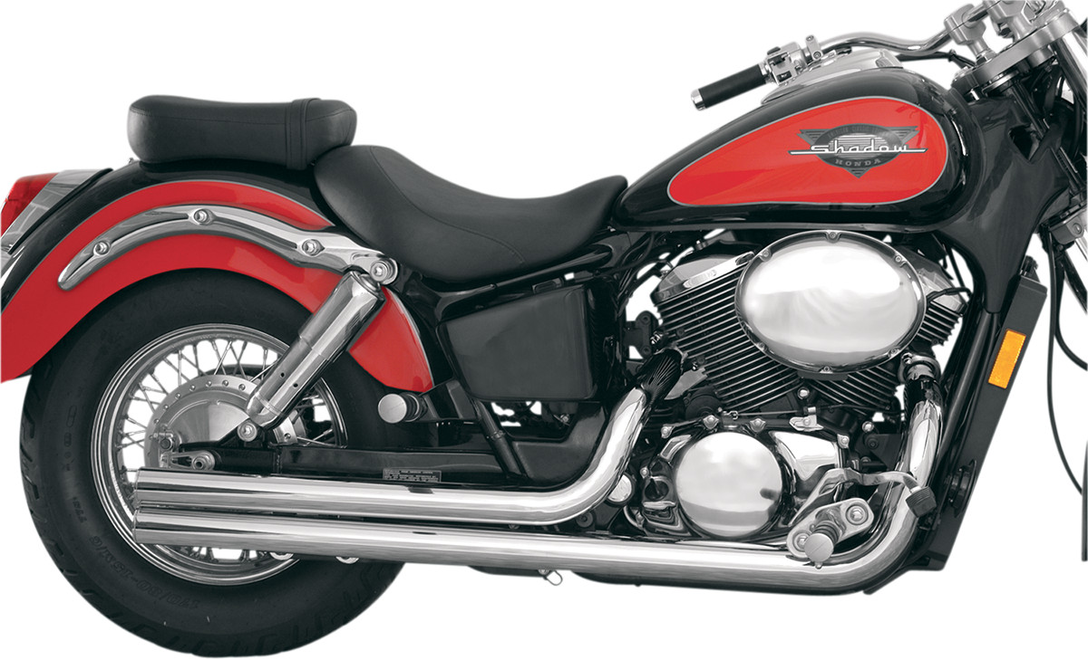 Mac Fat Stakkers Exhaust System - Honda Shadow ACE 750 (98-03)