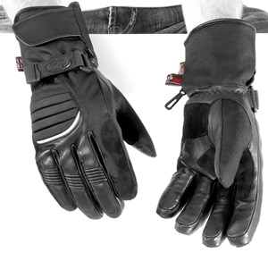 River Road Cheyenne Cold Weather Motorcycle Glove - Black