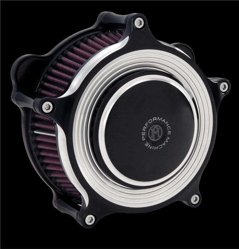 Performance Machine Super Gas Merc Contrast Cut Air Cleaner - Harley  Davidson Big Twin (93-06)