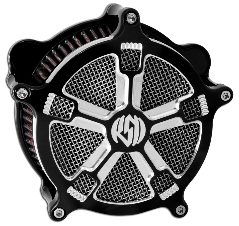 roland sands design turbo contrast cut venturi air cleaner