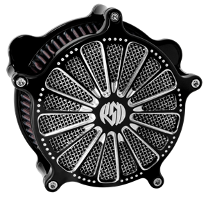 Roland Sands Design Domino Contrast Cut Venturi Air Cleaner  - Harley Davidson Sportster With CV Carb/ Delphi EFI  (91-12)