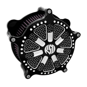 Roland Sands Design Slam Contrast Cut Venturi Air Cleaner  - Harley Davidson Tour Glide / FL Trike  (08-12)