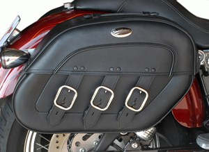 Saddlemen S4 Rigid-Mount Quick Disconnect Drifter Saddlebag - Yamaha V-Star 1100 (99-11)