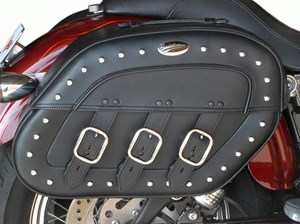 Saddlemen S4 Rigid-Mount Quick Disconnect Desperado Saddlebag - Kawasaki Vulcan 2000 (04-11)