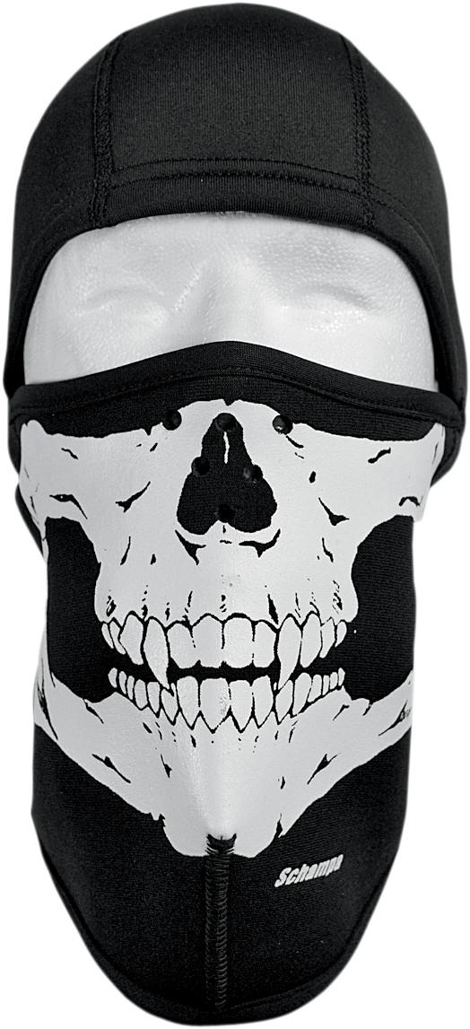 Schampa Neoprene Fleece Balaclava - Skull