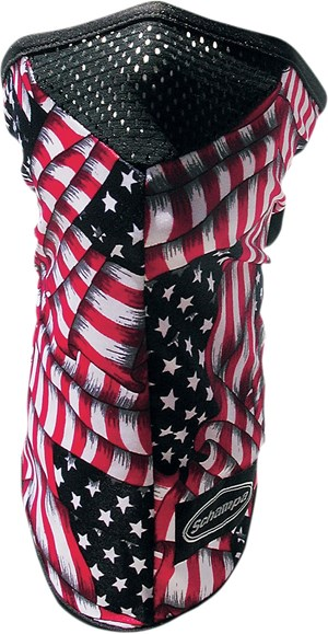 Schampa Stretch Half Face Mask - American Flag