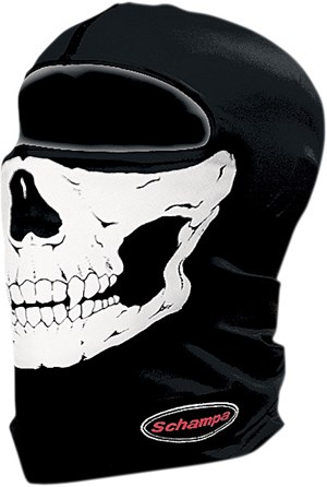 Schampa Stretch Full Face Mask - Skull