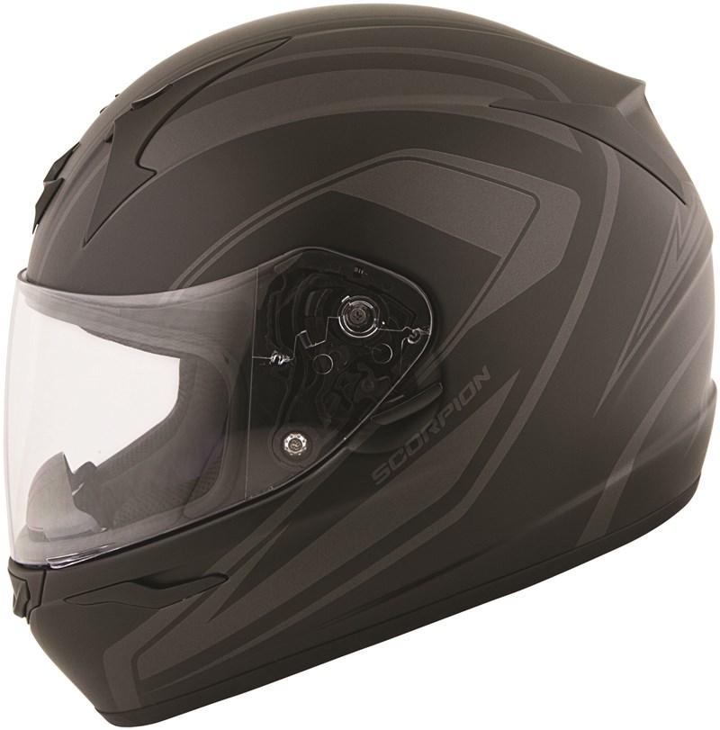 watch classic style sold worldwide Scorpion EXO-R410 Incline Full Face Motorcycle Helmet - Phantom ...