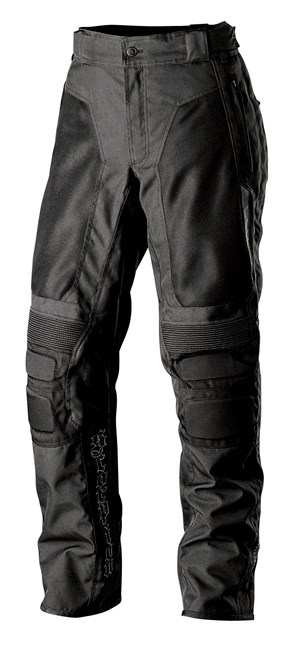 Scorpion ExoWear Deuce Textile Motorcycle Riding Pants - Black