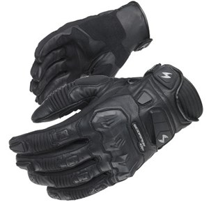 Scorpion ExoWear Klaw Leather Motorcycle Gloves - Black