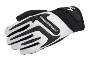 Scorpion ExoWear Skrub Women's Textile Motorcycle Gloves - White