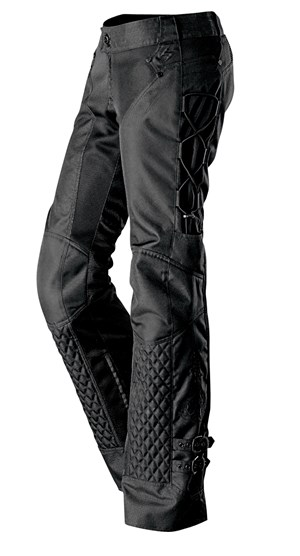 Scorpion Savannah Women's Textile Motorcycle Riding Pants - Black