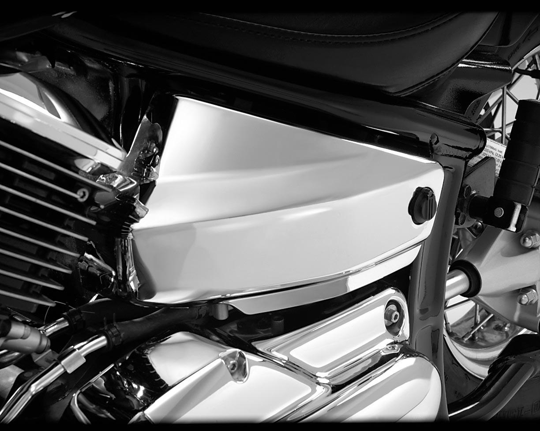 99-09 Yamaha V-Star Classic XVS650 LEFT UPPER FORK COVER GUARD 5KS-23121-10-00