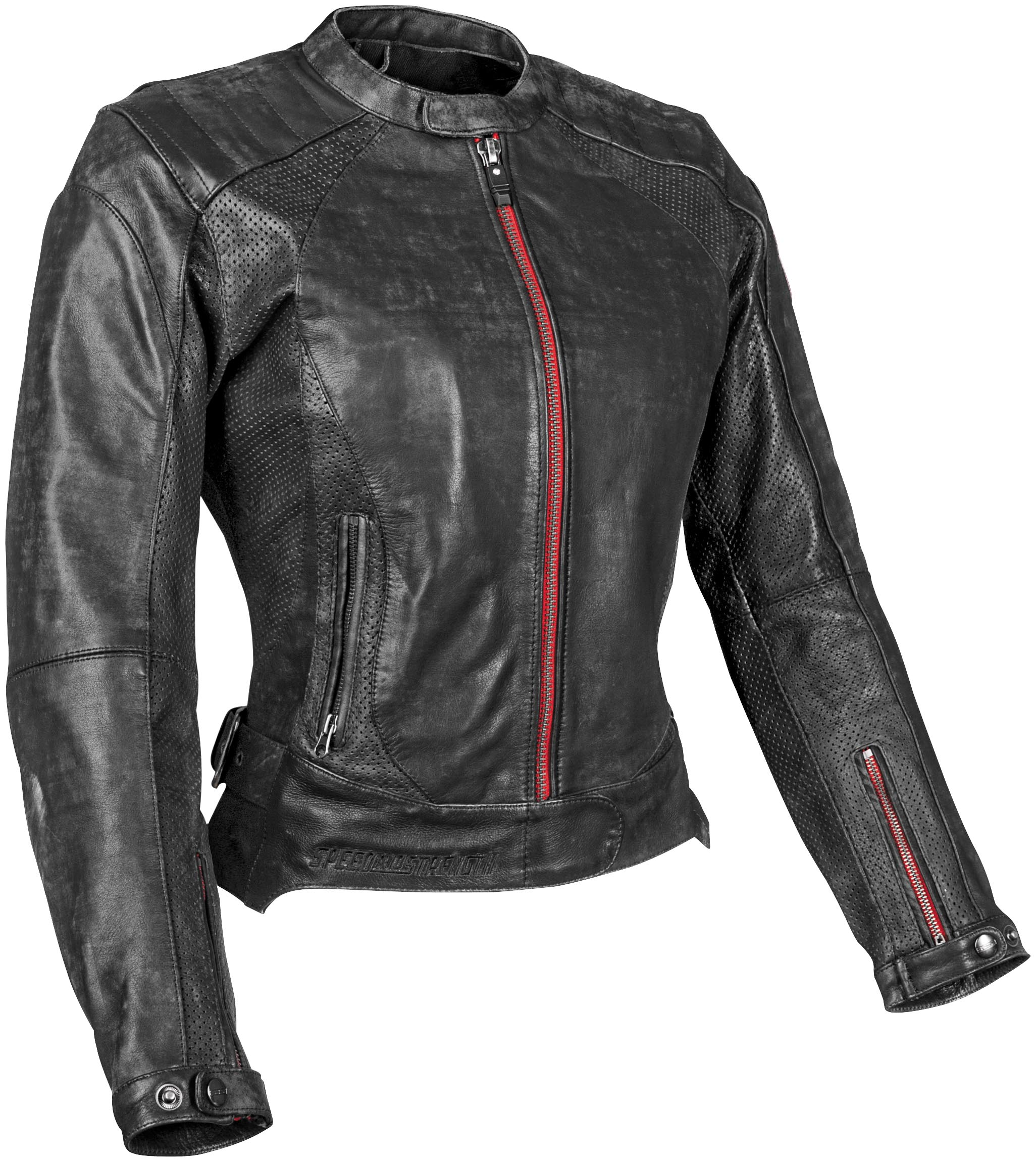 Speed And Strength Black Widow Women S Leather Motorcycle