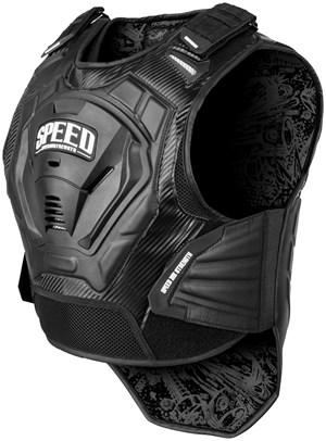 Speed And Strength Lunatic Fringe Armored Motorcycle Vest
